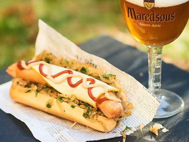 Hot-Dog au Maredsous® Tradition